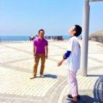 タッチフォーヘルス キネシオロジーセミナーレベル4 茅ヶ崎のサザンビーチで行う声だしワーク吐き出していただきました!