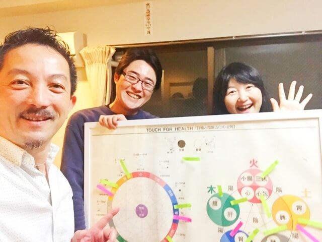 タッチフォーヘルス キネシオロジー セミナー 東京 神奈川 海老名