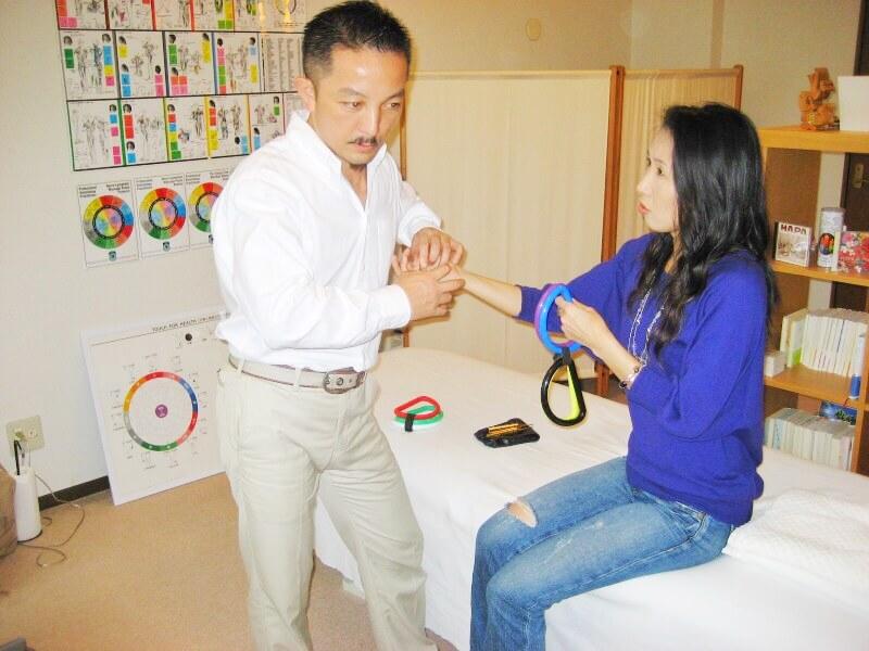 筋肉反射テスト オーリングテスト タッチフォーヘルス セミナー 東京 神奈川