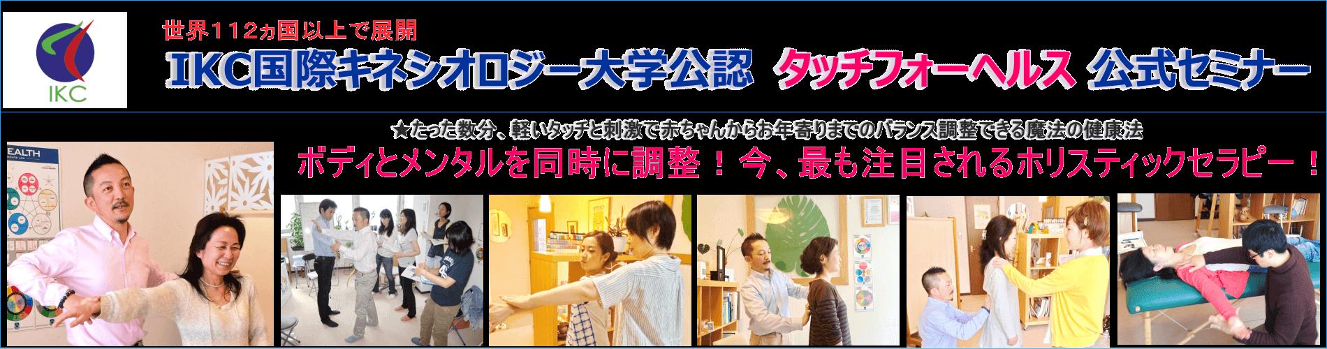 タッチフォーヘルス キネシオロジー セミナー 東京 神奈川