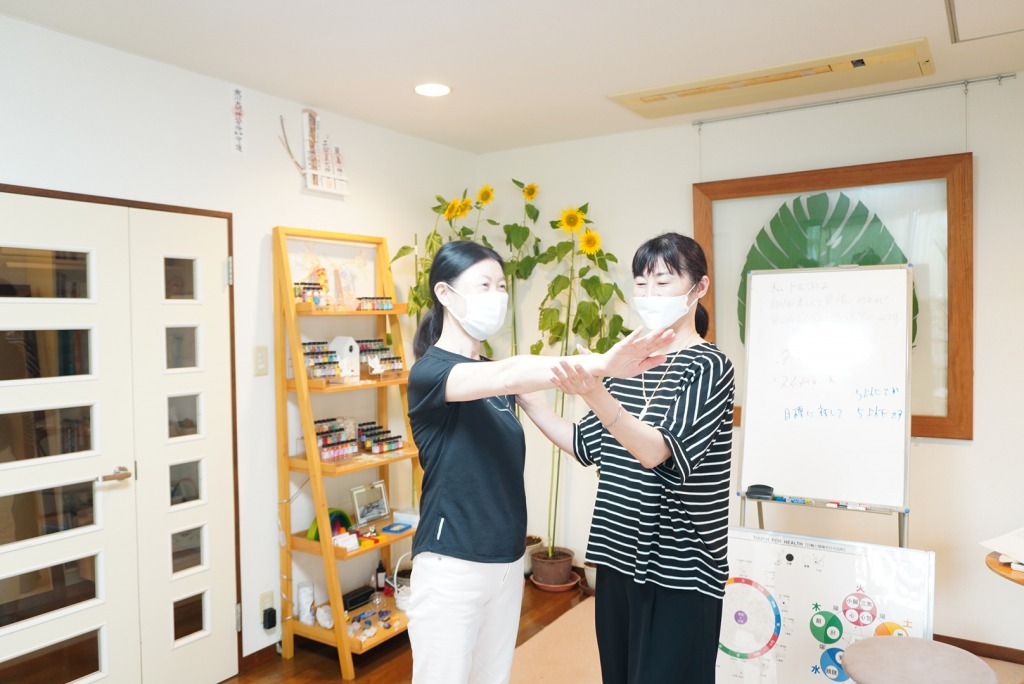 タッチフォーヘルス,キネシオロジー,筋肉反射テスト筋力テストセミナー,神奈川,静岡からの受講生