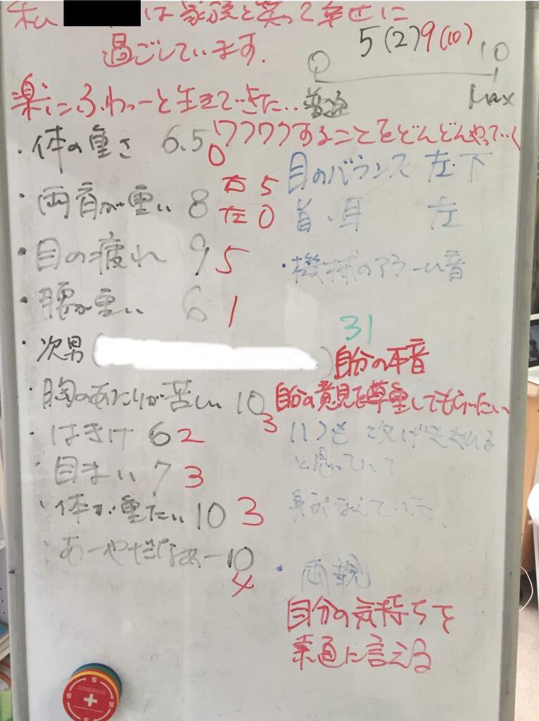 キネシオロジー,セラピーサロン ,埼玉からのお客様の感想